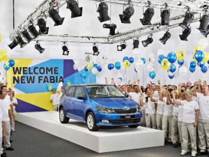 Skoda Fabia 3-го поколения